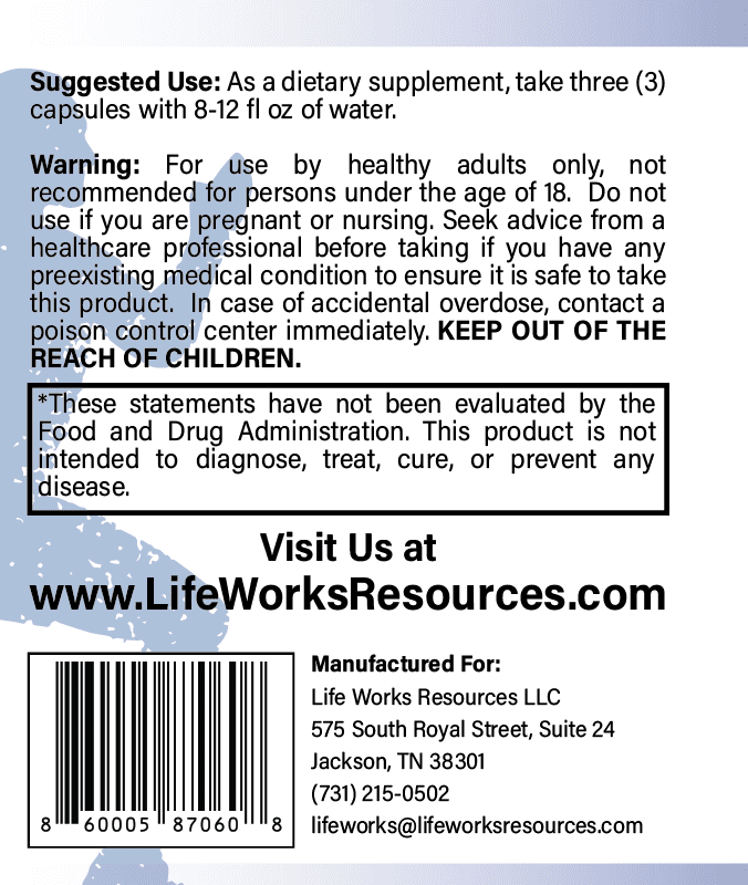 Uplifted Spirit mood supplement directions for use